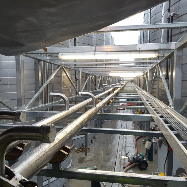 Winery pipework J 20